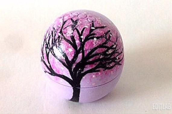 eos Lip Balm Cherry Blossom Tree - Custom Lip Balm Design  Natural    Eos Lip Balm Cherry
