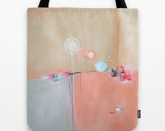 Pink Tote Bag, Art Tote, Blue Tote, Womens Totes, Girls Tote, Canvas Tote Bag, Shopping Bag, Market Tote, Beach Bag, Unique Gifts