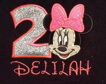 Custom Minnie Mouse Shirt