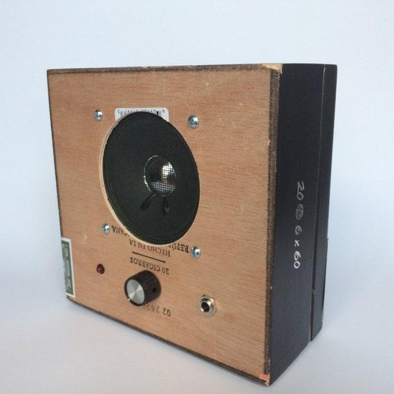 Cigar Box Amp : pdr 1878 cigar box guitar amplifier by mattsguitargadgets on etsy ~ Vivirlamusica.com Haus und Dekorationen
