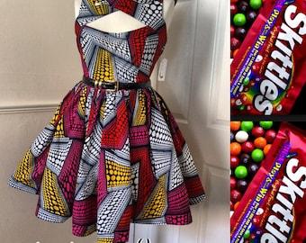 The Skittles dress