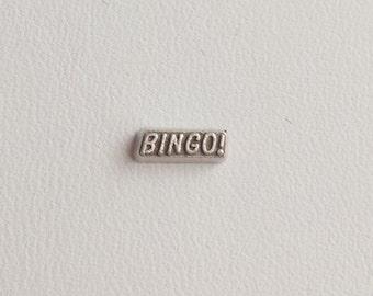 Bingo Floating Charm for Glass Living Memory Locket