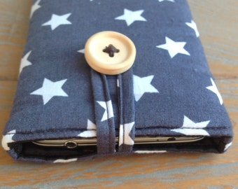 Padded phone sleeve, Custom made for iPhone, Samsung Galaxy or any other cellphone