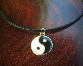 Ying Yang Charm Necklace