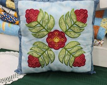 Whimsy Flower Pillow
