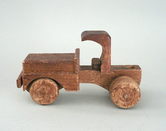 Childs Toy Wood Truck