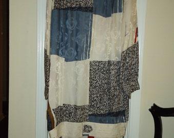 Harrods of London, Agenti Silk Dress, Size 12, Avant Grad's 1980's
