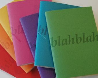 Blah Blah notebook