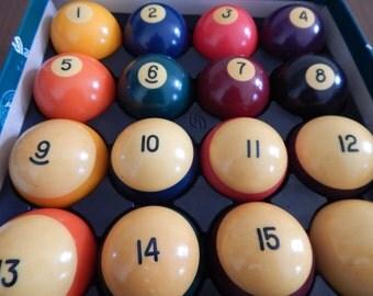 Aramith Billiard Balls - Made in Belgium