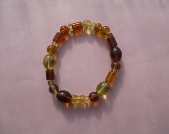 Burnt orange bracelet