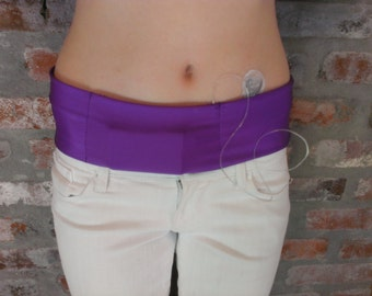 Insulin Pump Bands with a Velcro closure in the pocket/Free Shipping