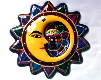 10 in. handcrafted Mexican sun