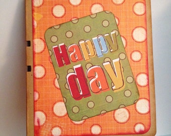 Fun birthday card with a magna-draw inside!