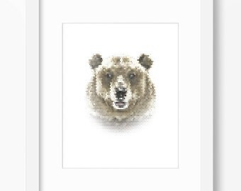 Bear Wall Art bear wall art | etsy