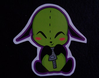 GIR sticker: Invader Zim