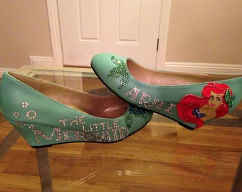 Custom, Made to order High Heel Wedges, for your Favorite Character!