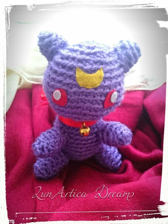 Amigurumi Seilor Moon : Amigurumi Diana Sailor Moon by LunArticaDreams on Etsy