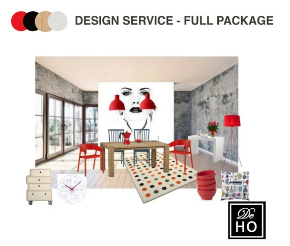 Interior Design Service Online Edesign Complete 1 Room