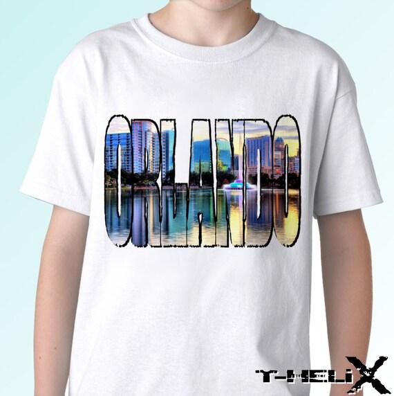 orlando city new white holiday t shirt us state florida