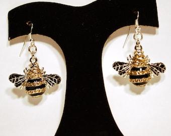 Earrings Bee E-52