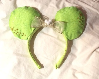 Unique Peter Pan Tinkerbell Ear headband