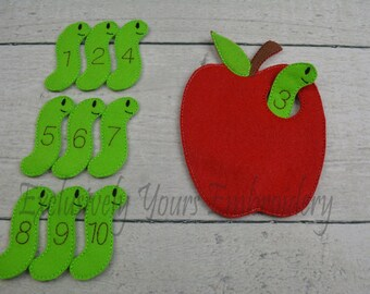 Apple and Worms Counting Set