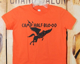 Camp Half-Blood Shirt. YOUTH American Apparel size 6, 8, 10, or 12.