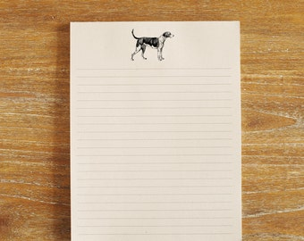 Large Dog Notepad - 8.5x11 inches