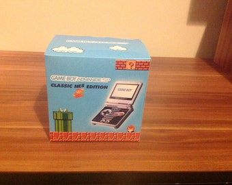 Gameboy Advance SP Classic NES Edition Repo Box Only
