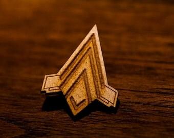 Battlestar Galactica - Junior Pilot Qualification Wings Pin