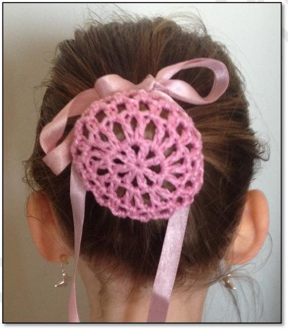 Crochet Hair Bun Cover : Crochet Ballerina Bun Cover Pattern by TheMagicRing on Etsy