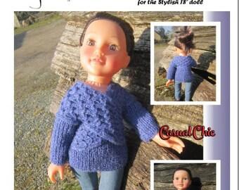 Knitting Patterns For Journey Girl Dolls : Designafriend Etsy