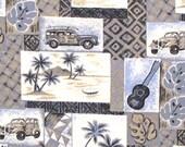 Items similar to 5OFF Promo Retro Hawaii Fabric Tapa