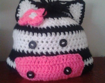 Child Zebra Hat