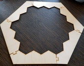 Settlers of Catan Border - Unfinished and Unsanded - Custom Catan Game Board