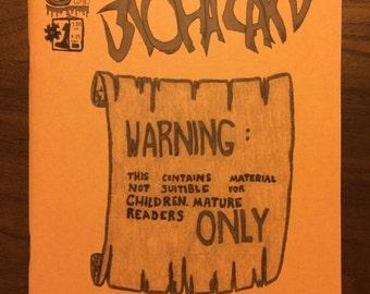 """Zine #4 of 6 // """"Biohazard"""" // 1996-1997"""