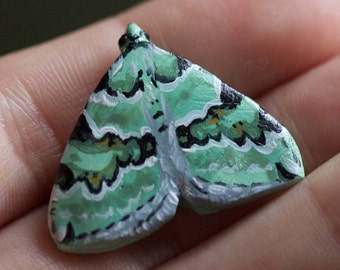 Moth and butterfly badge / magnet No.2
