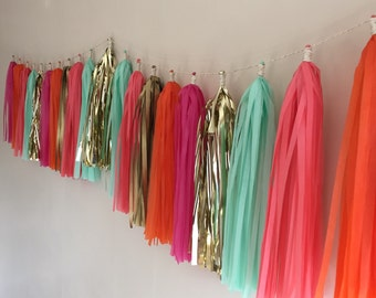 Tassel Garland || Indian Monsoon || Summer Brights and Gold