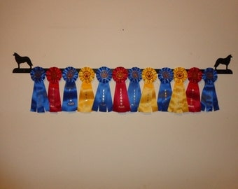 Showoff Ribbon Rack #0101W - Border Collie