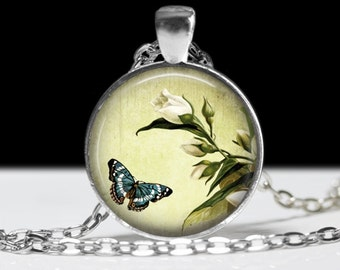 Butterfly Pendant Butterfly Jewelry Wearable Art Butterfly Necklace Butterfly Jewelry Charm