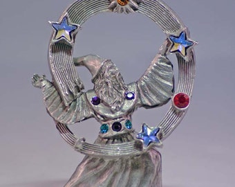 Celestial Sage Wizard Pewter Collectible 4569