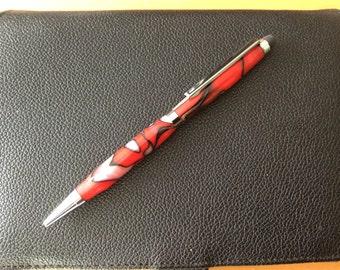 Slim Line Ink Pen with stylus