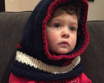 New England Patriots Youth Cowl