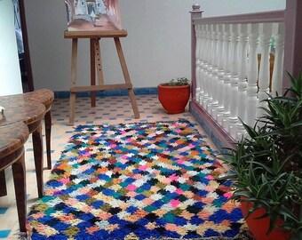 Moroccan rug Boucherouite