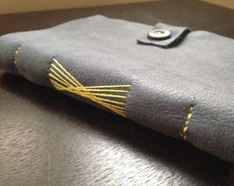 Artistic Leather Notebook