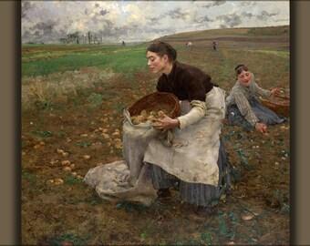 24x36 Poster; Jules Bastien-Lepage, October, 1878