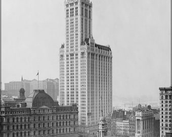 24x36 Poster; Woolworth Building  C1913