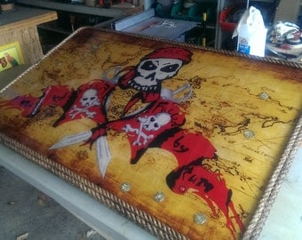 Pirate Themed Bar Tables, Coffee Tables