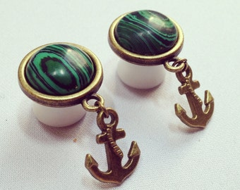 Plugs Piercing Gauges Anchor plugs