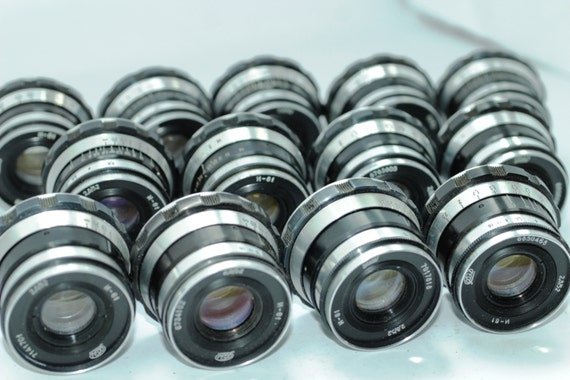 13 pcs. INDUSTAR-61 (Russian Tessar) USSR lens 2.8/52 for Leica M39 FED Zorki q